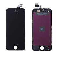 Дисплей (модуль) Apple iPhone 5 черный Оригинал
