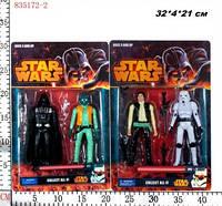 "Герои 835172-2 ""Star Wars"" 2в.2шт.лист.32*4*21 ш.к./144/(835172-2)"