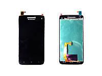 Дисплей (модуль) Lenovo S960 vibe x с черным сенсором