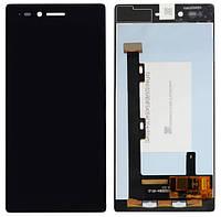 Дисплей (модуль) Lenovo VIBE Shot Z90 с черным сенсором