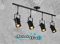 Светильник подвесной LOFT AS-190 чёрный. LED светильник. Светодиодный светильник.