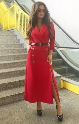 Платье красное Viravi Wear, модель 1021