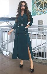 Платье темно-синее Viravi Wear, модель 1021