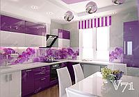 Фиолетовые кухни на заказ ViAnt - лидер продаж
