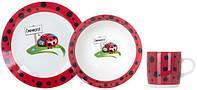 Набор посуды детской 3 предмета Limited Edition
