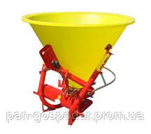 Разбрасыватель минеральных удобрений навесной Jar-Met 500 кг.(Пластик)