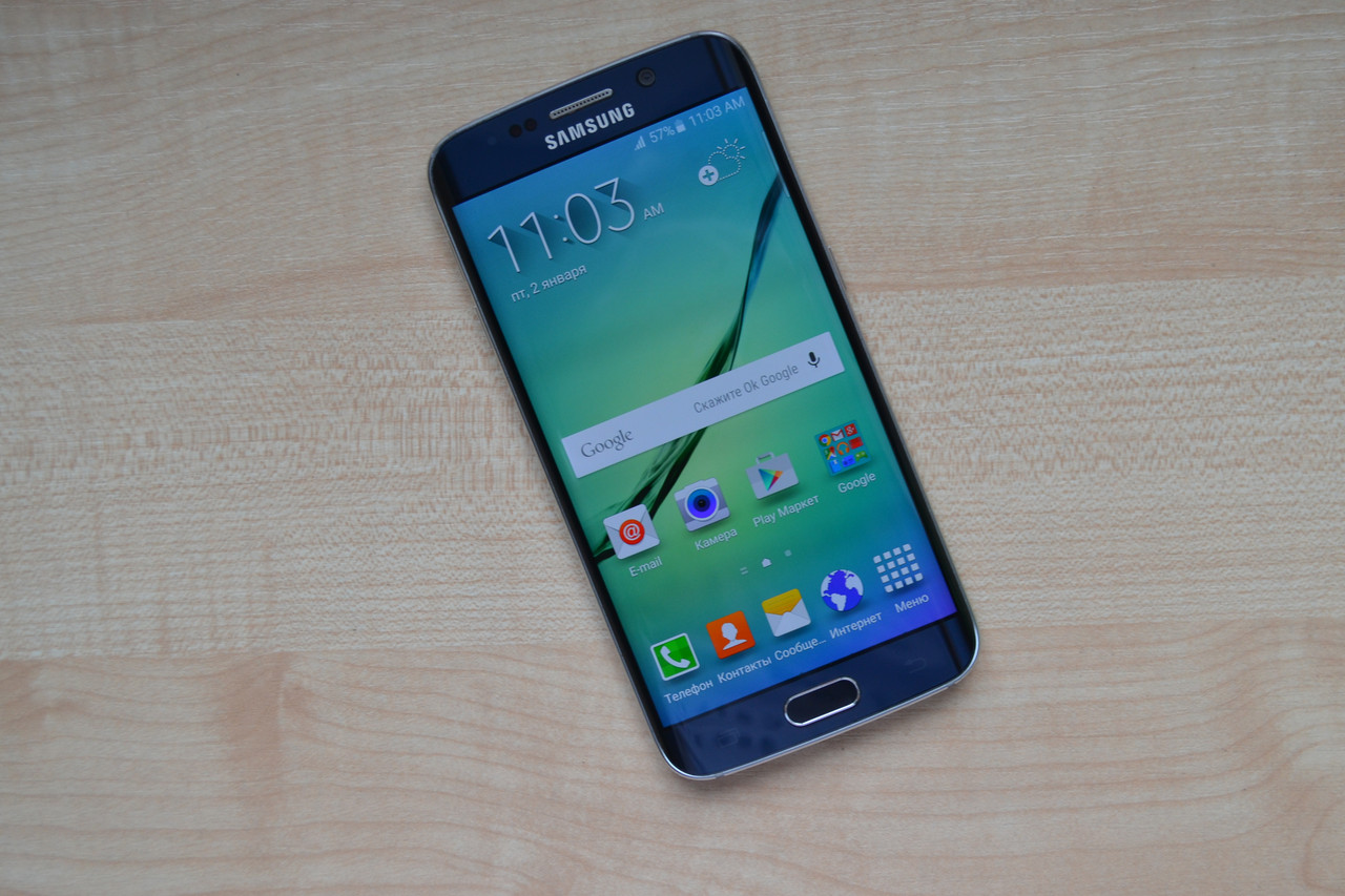 Samsung Galaxy S6 Edge G925I 64Gb Black Оригинал!