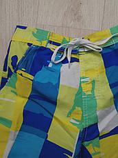 Шорты пляжные детские сине-зелёные- 157-01-1, фото 2