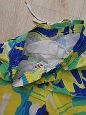 Шорты пляжные детские сине-зелёные- 157-01-1, фото 3