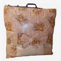 Набор в кроватку для новорожденных ''Мишки спят'' персиковые