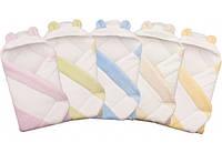 """Конверт с капюшоном  для новорожденных """" coral fleece """" Duetbaby  ( код 555/1  ) мех"""
