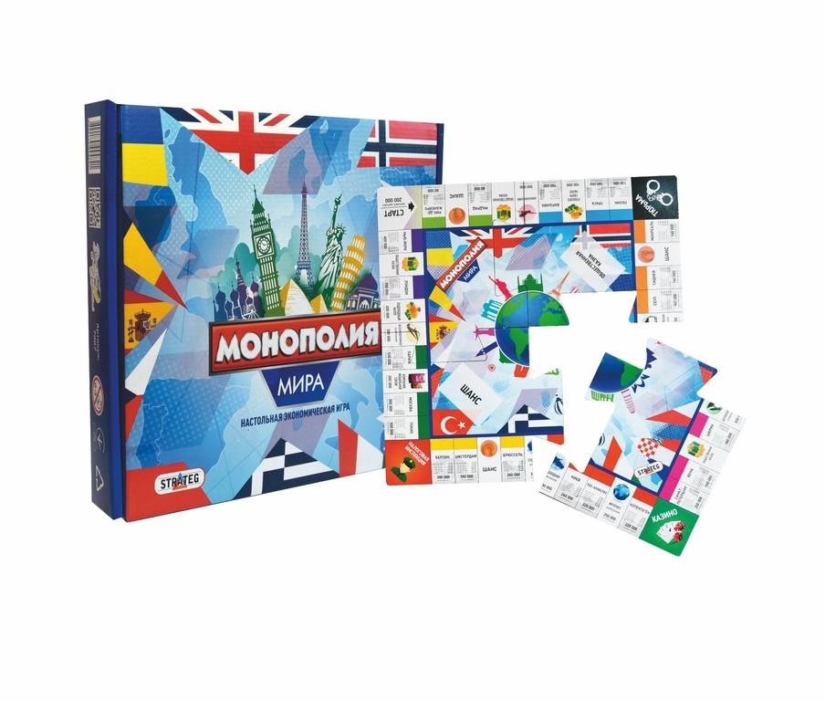 Игра Світова економіка 7007 Strateg, монополия, мировая экономика