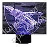 3D Светильник Самолет 13-8