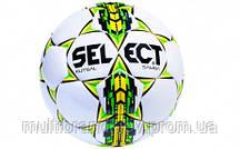 Мяч футзальный №4 SELECT FUTSAL SAMBA IMS (FPUS 1200, белый-зеленый-желтый)