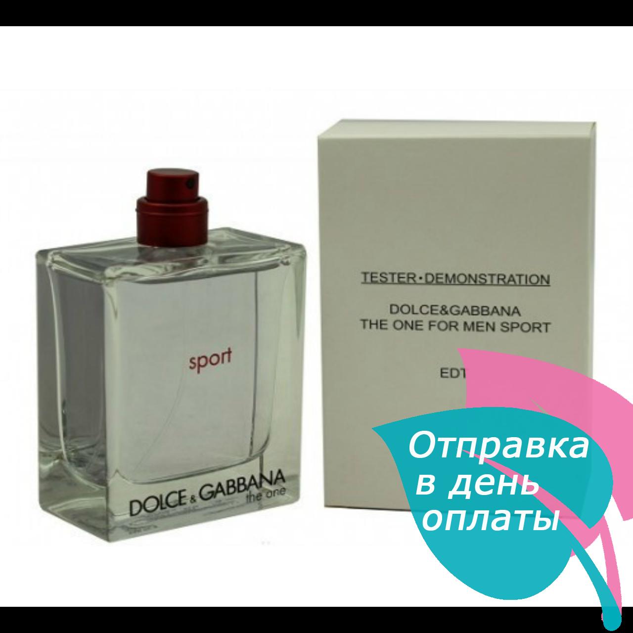 Dolce&Gabbana The One Sport TESTER мужской,100 мл