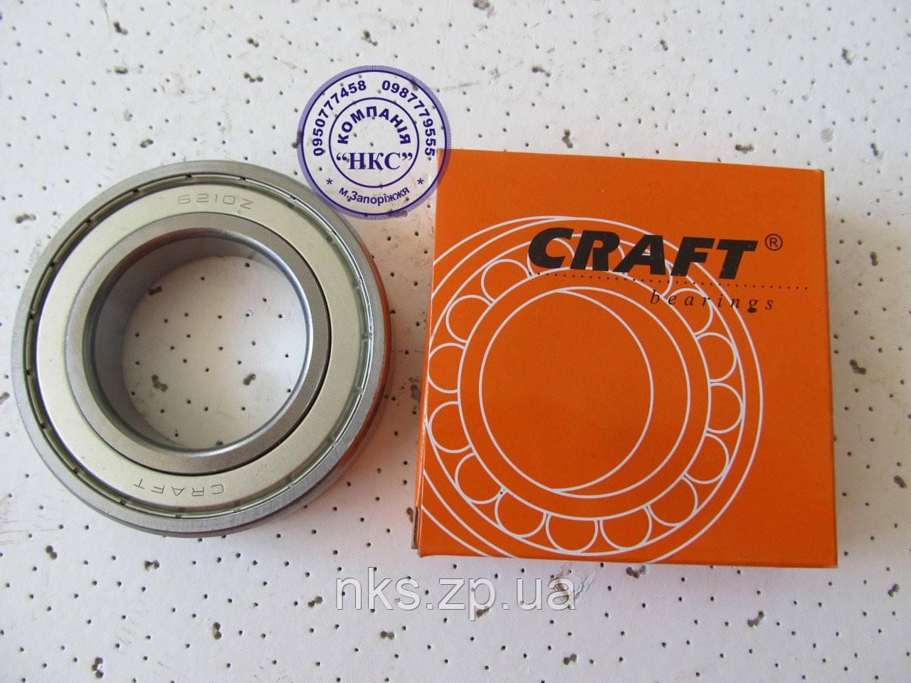 """Подшипник 6210 ZZ """"Craft"""" Z-169."""