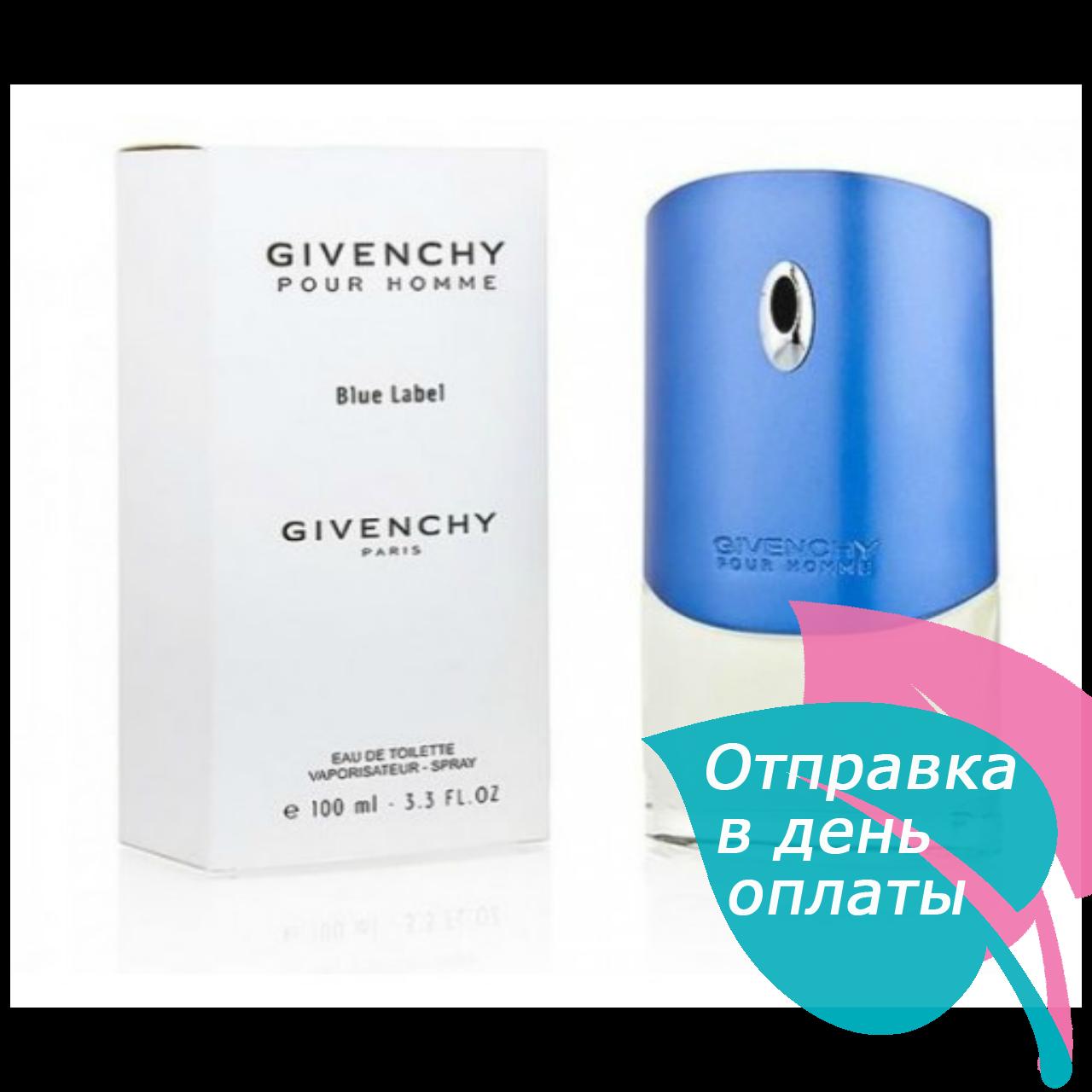 Givenchy Blue Lebel TESTER мужской, 100 мл