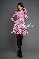 Платье с сердечками розовый, фото 1