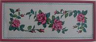 Узор из роз