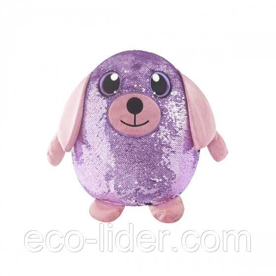 Мягкая игрушка с пайетками SHIMMEEZ – ВЕРНЫЙ ПЕСИК (20 см)