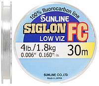 Флюорокарбон поводковый Sunline SIG-FC 30m 0.160mm (4lb / 1.8kg)