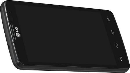 Смартфон LG X145 Optimus L60i Black, фото 2