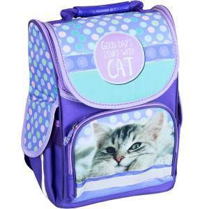 Рюкзак-коробка ортопедический SMILE «Котик», фото 2