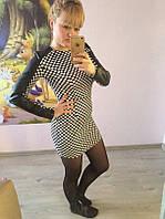 Платье Шахматка КЕТ 538