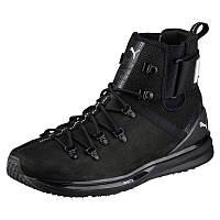 Ботинки мужские Puma IGNITE Limitless Boot Leather 190563 01 (черные, осень/зима, кожаные, логотип пума), фото 1