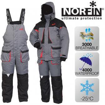 Костюм зимний мембранный Norfin ARCTIC RED -25 ° / 4000мм -M