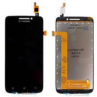 Модуль Дисплей+Тачскрин Lenovo S650 Black Оригинал
