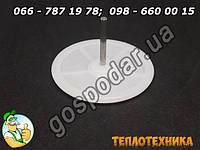 Тарелка со штоком водяного редуктора газовой колонки Нева 4511, 4510, 4513