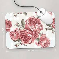 Коврик для мыши 290x210 Цветы №18 (растения, цветы, флора, узоры)