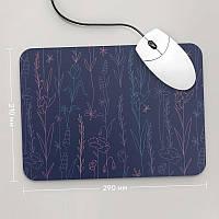Коврик для мыши 290x210 Цветы №48 (растения, цветы, флора, узоры)