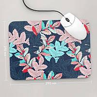 Коврик для мыши 290x210 Цветы №49 (растения, цветы, флора, узоры)