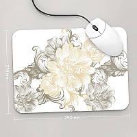 Коврик для мыши 290x210 Цветы №54 (растения, цветы, флора, узоры)