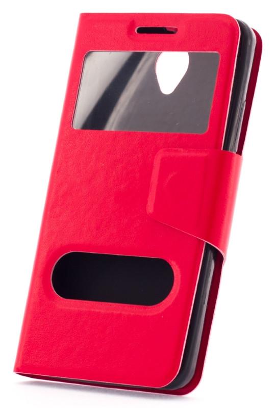 Чехол книжка для Lenovo A5000 Красный
