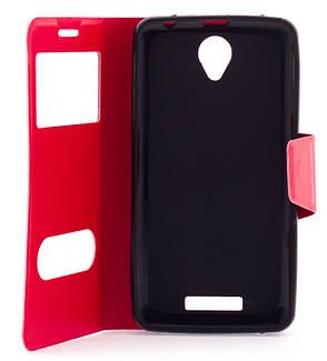 Чохол-книжка для Lenovo A5000 Червоний, фото 2