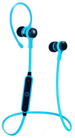 Бездротова стереогарнітура Bluetooth S6-1 Синій, фото 2