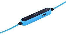 Бездротова стереогарнітура Bluetooth S6-1 Синій, фото 3