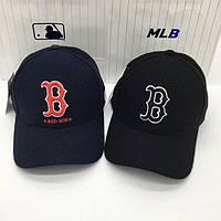 Зимние бейсболки кепки BOSTON Red Sox шерсть. Стильная зимняя бесболка. Мужские бейсболки, большой выбор.