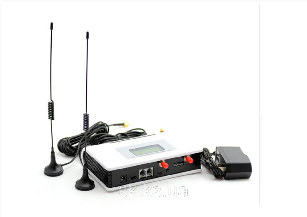 Gsm терминал sertec D352 который сделает стационарный телефон мобильным на 2 сим карты