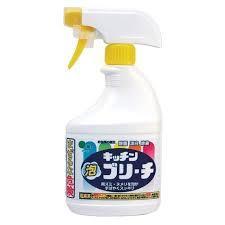Универсальное кухонное моющее и отбеливающее пенное средство с возможностью распыления Mitsuei 400 мл (40054)