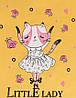 Пижама детская желтая телпая с начесом Kitty трикотаж 100% хлопок Украина, фото 4