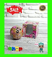 Кукла ЛОЛ (LOL) в шаре Pearl Surprise, 45+, золото, SM-1659