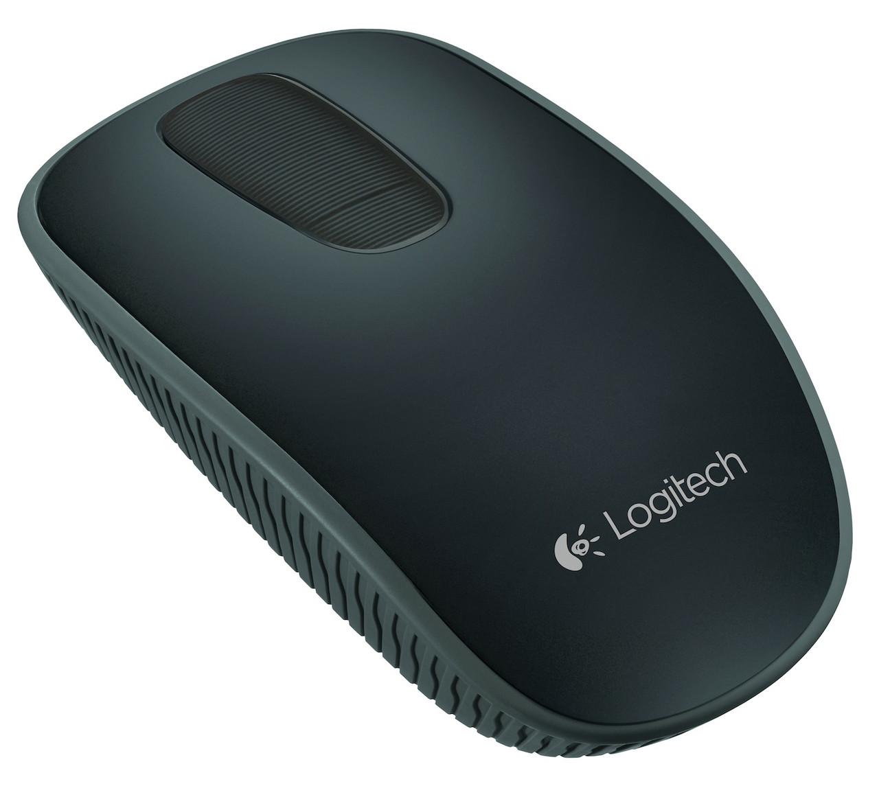 Мышка Logitech Wireless Touch Mouse T400 BLACK