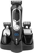 Набор для стрижки волос и бороды VITEK VT-2549 Аккумуляторный 5 насадок Черный / Серебристый