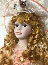 Коллекционная фарфоровая кукла, сувенирная, 45 см 03-08, фото 2