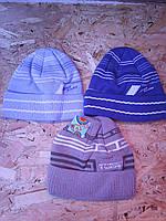 Весенняя вязанная шапочка для мальчика, фото 1