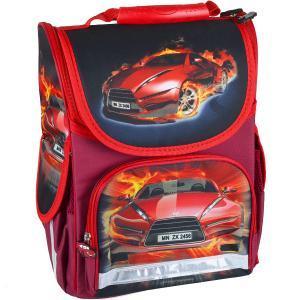 Рюкзак-коробка ортопедический SMILE «Огненное авто»